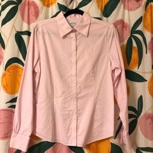 Brooks Brothers light pink button down cotton